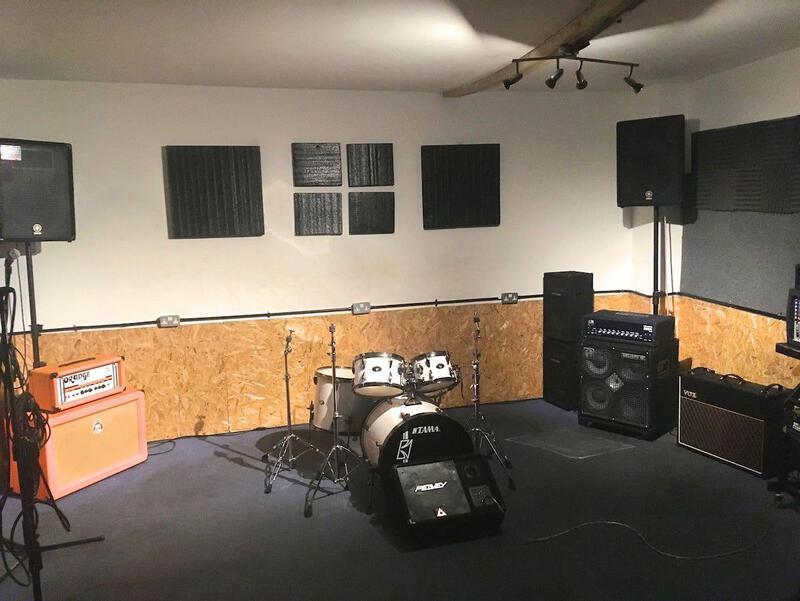 Book Rehearsal Studios Near Me Musicwise